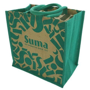 Suma Branded Bags | Handy Size Jute Shopping Bag | 1 X Bag. This Product Is :- Vegan