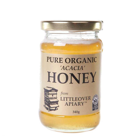 Littleover Apiaries | Organic Acacia Honey | 1 x 340g