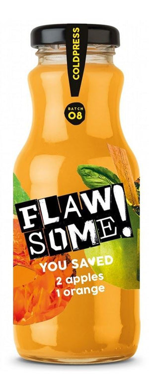 Flawsome! | Apple & Orange Juice | 1 x 250ml | Flawsome!