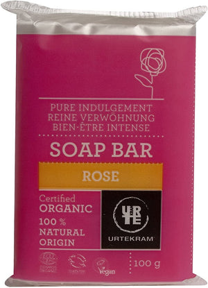 Urtekram | Organic Rose Soap | 1 X 100g. Sold By Superfood Market