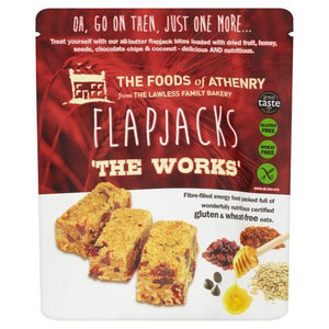 Foods Of Athenry | All Butter Flapjack Mini Bites The Works | 1 x 150g | Foods Of Athenry