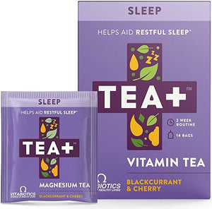 Tea+ | Magnesium Infused Tea - 14 Night Routine | 1 x 14 Bags