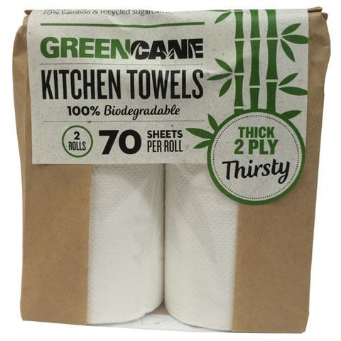 Eencane | 2 Ply Kitchen Towels - 80 Sheets | 1 x 2 Pack