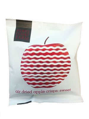 Perry Court Farm | Air Dried Sweet Apple Crisps | 24 X 20g. This Product Is :- Gluten Free,vegan,dairy Free