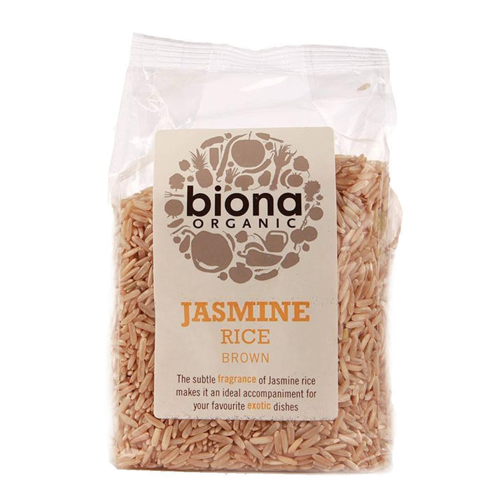 Biona | Jasmine Brown Rice Organic | 1 x 500g
