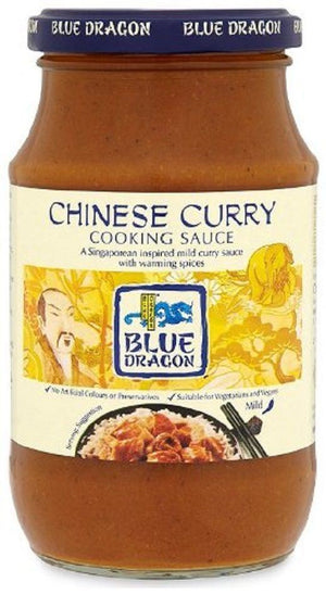 Blue Dragon | Chinese Curry Cooking Sauce | 1 x 425g | Blue Dragon