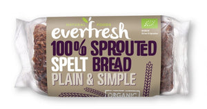Everfresh Natural Foods | Sprouted Spelt Bread | 1 x 400g | Everfresh Natural Foods