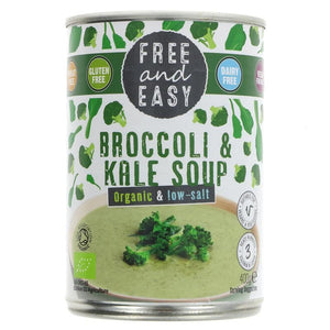 Free & Easy | Broccoli & Kale | 1 x 400g | Free & Easy