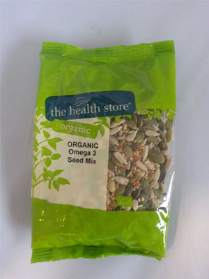 Ths Organic Mixes | Ths Organic Four Seed Mix Formally Omega 3 Mix | 1 X 500ge. Sold By Superfood Market