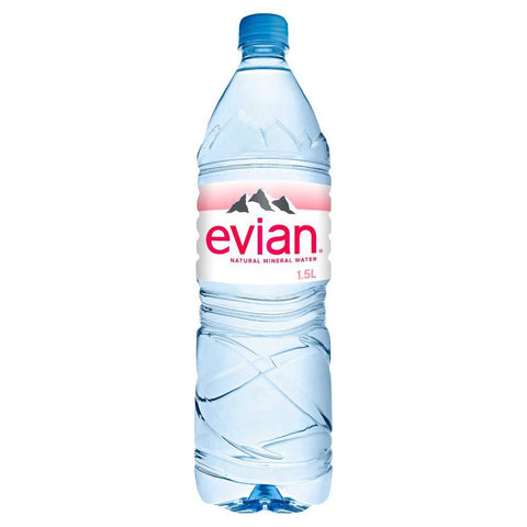Danone Waters Uk And Ireland A | Evian Mineral Water - Pet | 1 x 1.5ltr
