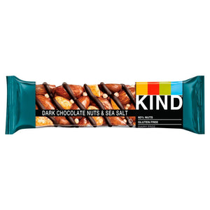 Kind Bars | Dark Chocolate Nuts & Sea Salt Bar | 1 x 40g | Kind Bars