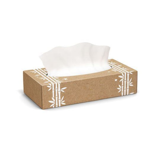 Greencane Paper | 2ply Facial Tissues | 1 x Single