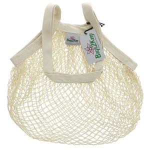 Bags2keep | White Cotton String Bag | 1 X Bag. This Product Is :- Vegan