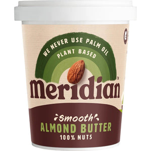 Meridian | Almond Butter Smooth | 1 x 454g | Meridian