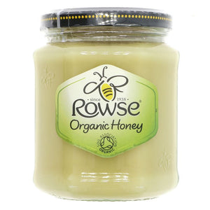 Rowse | Organic Honey - Set | 1 X 340g. Sold By Superfood Market