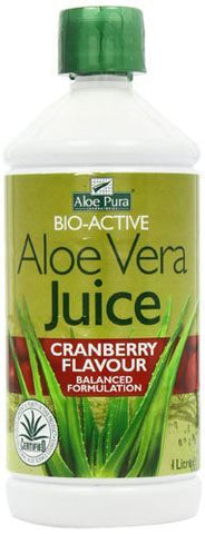 Optima | Aloe Vera Cranberry Juice | 1 x 1ltr