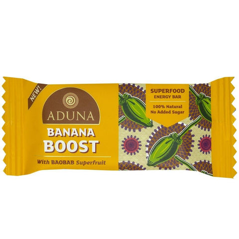 Aduna | Banana Boost With Baobab Superfood Energy Bar | 1 X 40g. Sold By Superfood Market