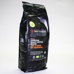 Equal Exchange | Espresso - Og | 1 X 1kg. This Product Is :- Vegan,organic,fairtrade