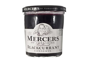 Mercers | Blackcurrant Conserve | 1 x 340g | Mercers