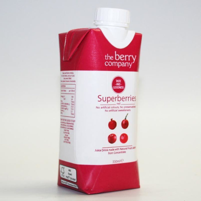 Berry Company | Superberries Rd & Hibiscus | 1 x 330ml