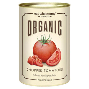 Eat Wholesome | Organic Chopped Tomatoes | 1 x 400g | Eat Wholesome
