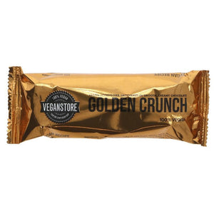 Vegan Store | Milk Golden Crunch Bar | 1 X 49g. This Product Is :- Vegan