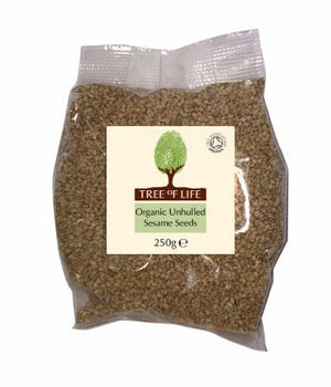 Tree Of Life | Organic Sesame Seeds - Unhulled | 1 x 250g