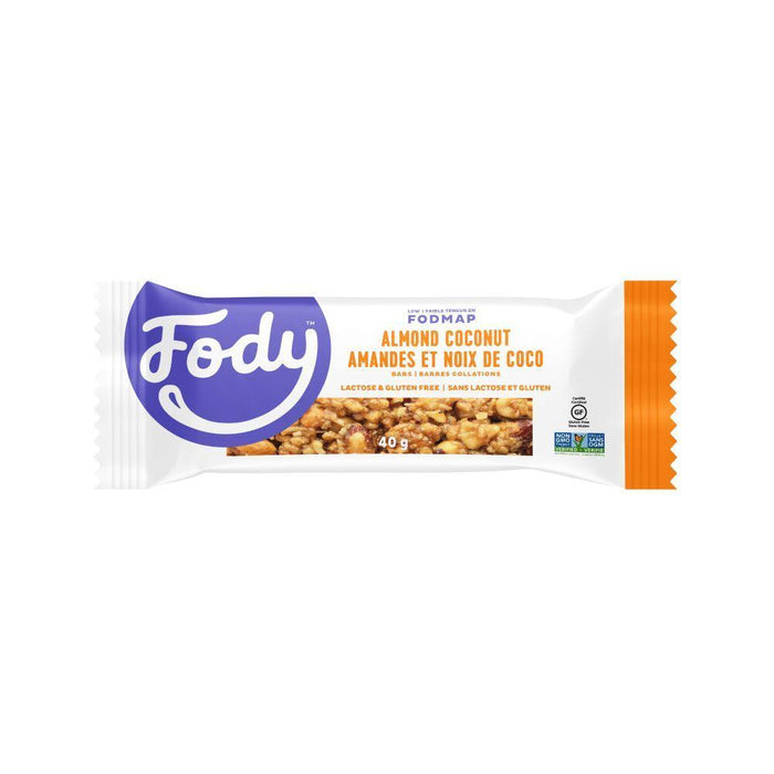 Fody Food Co | Fody  Almond Coconut Bars | 1 x 40g
