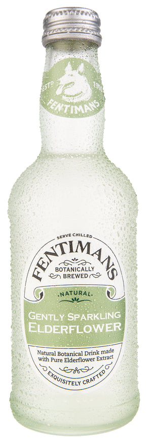 Fentimans | Gently Sparkling Elderflower | 1 x 275ml | Fentimans