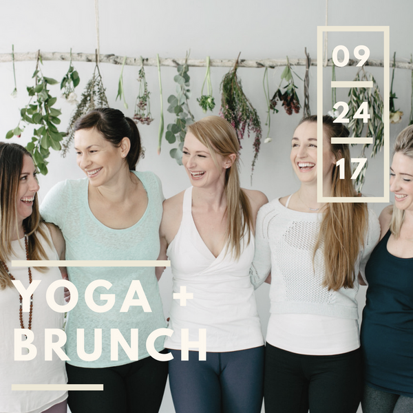Between The Vines Yoga + Brunch | Sept 24th