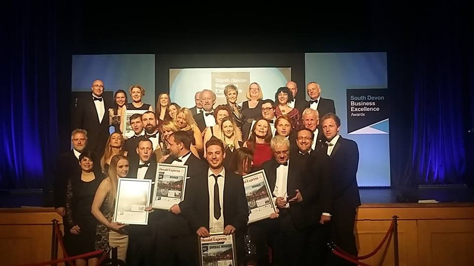 Peter Morris and his company Lockabox win Business Excellence Awards