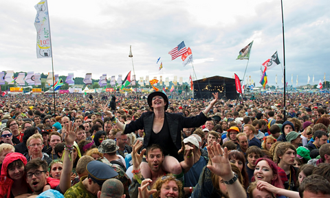 Festival image from the Guardian