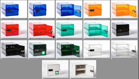 New Lockabox Colour range