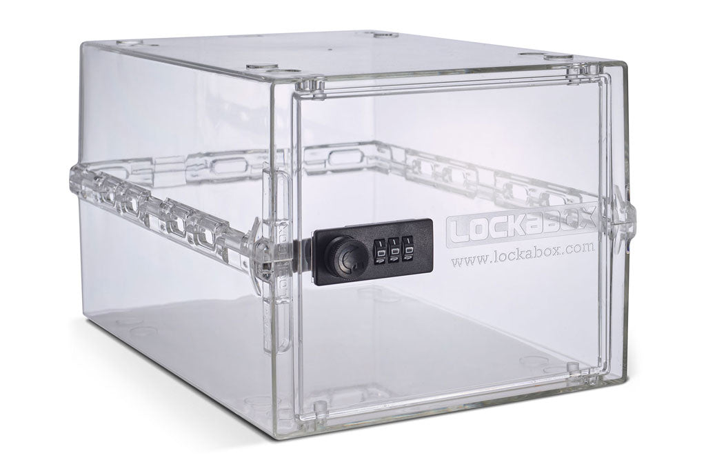 Lockabox-it for safer storage | Compact and hygienic lockable box for food, medicines and household items