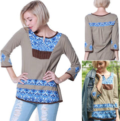 SMALL / CAFÉ,Hippy chick Tunic Surya,WeRFunky.
