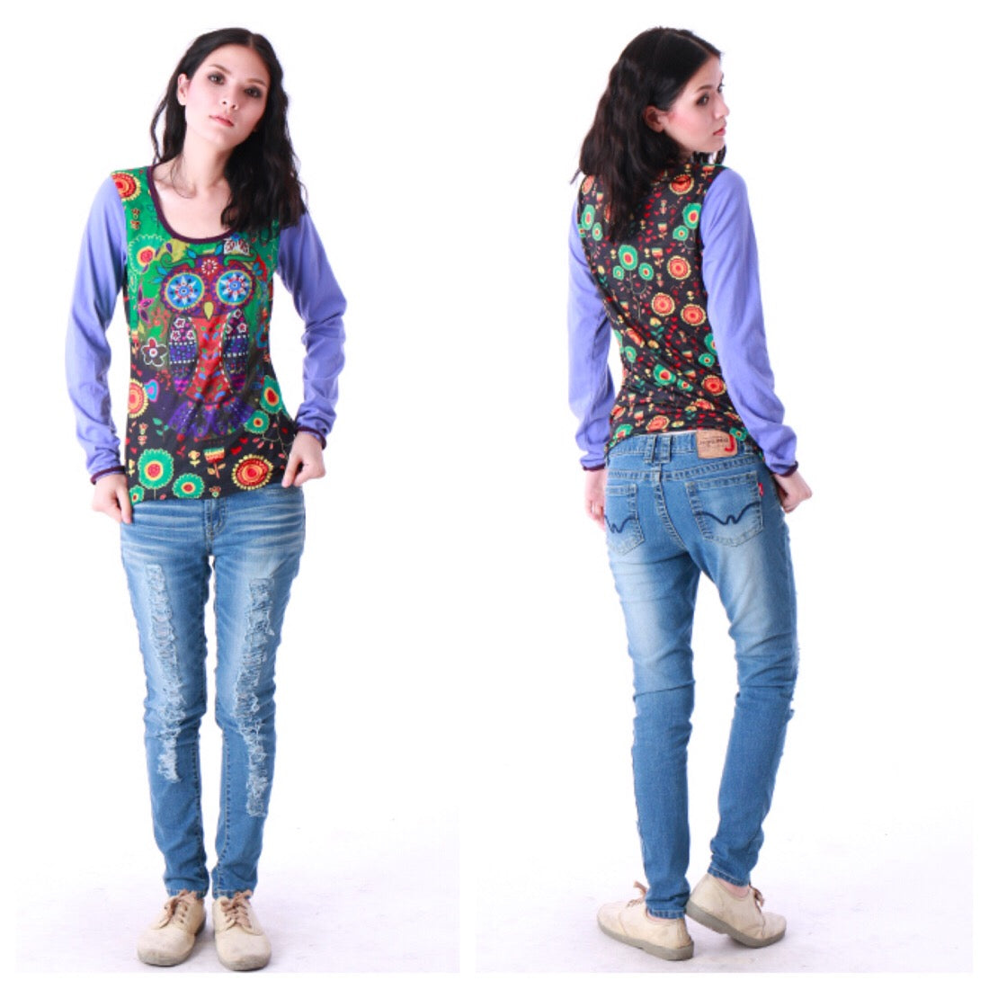 Hippy chick Top Dhama
