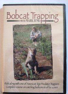 "June ""Bobcat Trapping"" DVD-Trap Shack Company"