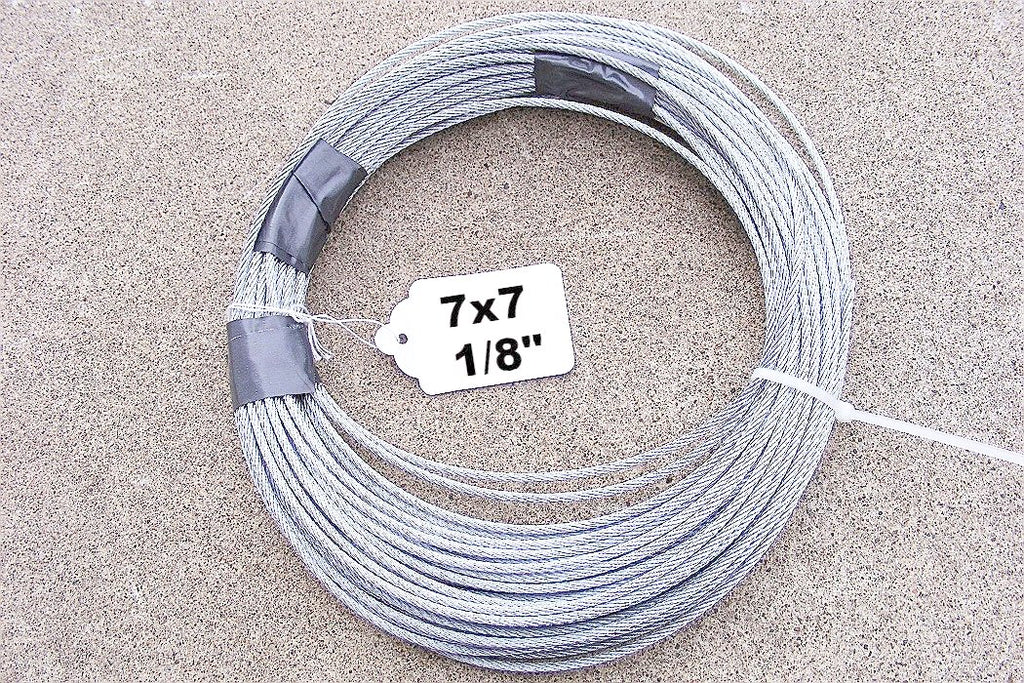"Cable 7x7 (1/8"")-Trap Shack Company"