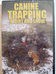"Steck ""Canine Trapping in Dirt and Snow"" DVD"
