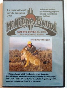 "Milligan ""Coyote Fever: The Art of the 2 inch Circle""-Trap Shack Company"