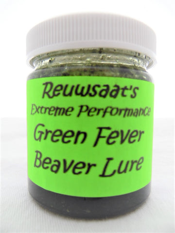 Reuwsaat's - Green Fever Beaver Lure-Trap Shack Company