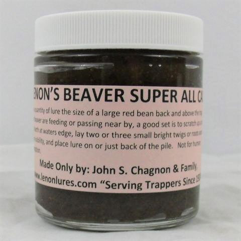 Lenon's Beaver Super All Call - Beaver Lure-Trap Shack Company