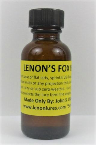 Lenon's Fox Nature Call - Fox Lure-Trap Shack Company