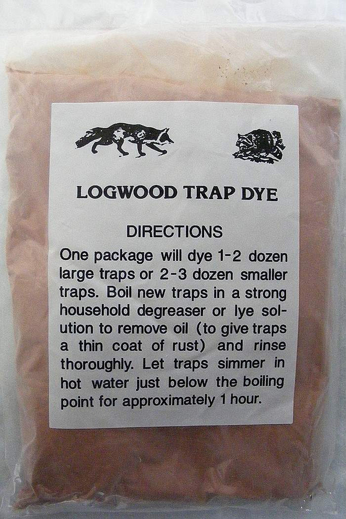 Logwood Trap Dye - Powder-Trap Shack Company
