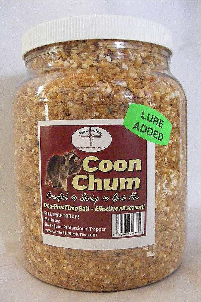 Mark June's - Coon Chum - 64oz Bran-Trap Shack Company