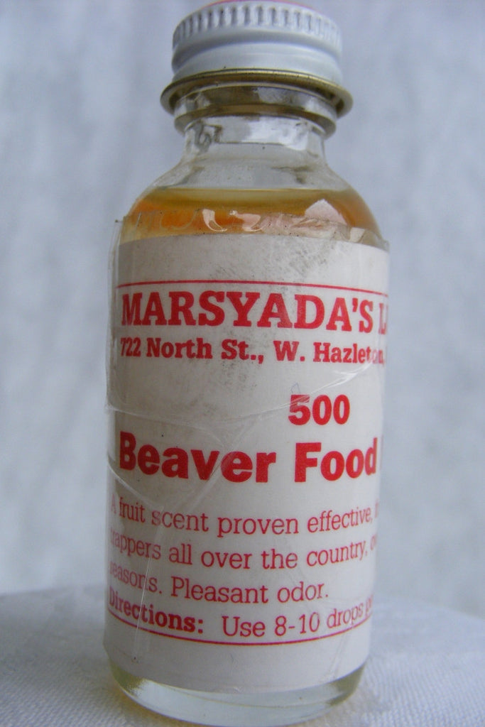 Marsyada's - Beaver Food #500 - 1oz Lure-Trap Shack Company