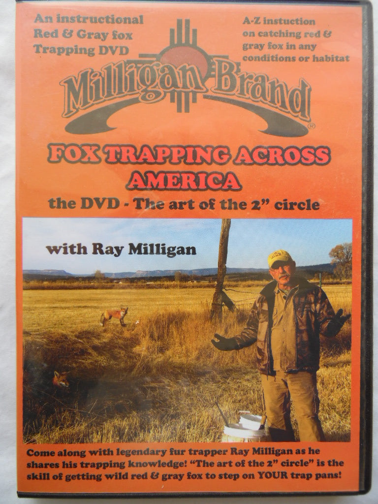 "Milligan ""Fox Trapping Across America""-Trap Shack Company"