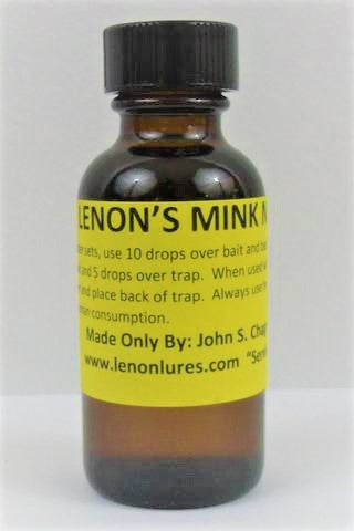 Lenon's Mink Nature Call - Mink Lure-Trap Shack Company