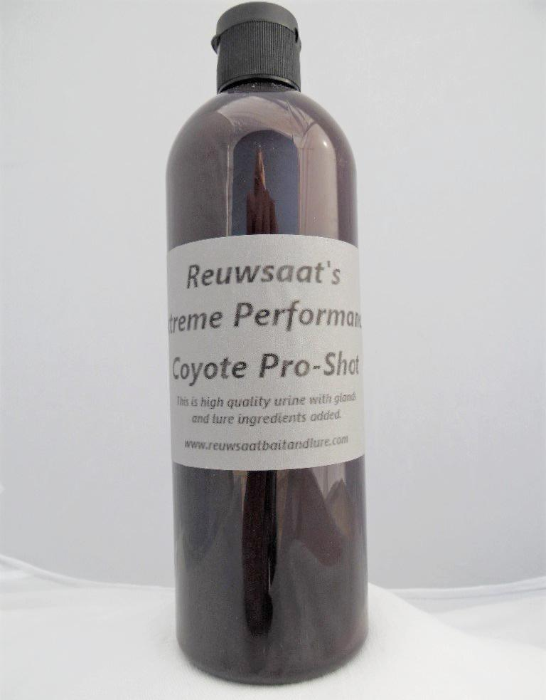 Reuwsaat's - Coyote Pro-Shot Urine - 16 oz-Trap Shack Company