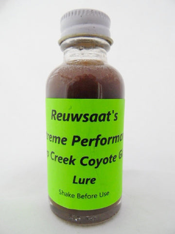 Reuwsaat's - Deep Creek Coyote Gland - 1oz Lure
